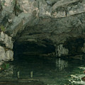 The Grotto of the Loue Print by Gustave Courbet