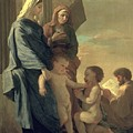 The Holy Family Poster by Nicolas Poussin