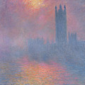 The Houses of Parliament London Poster by Claude Monet