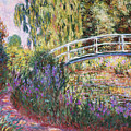 The Japanese Bridge Poster by Claude Monet