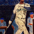 The Kid feat Ken Griffey Jr Poster by D Rogale