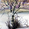 The Lone Tree Print by Mindy Newman