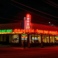 The Majestic Diner Poster by Corky Willis Atlanta Photography