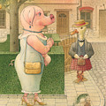 The Missing Picture02 Print by Kestutis Kasparavicius