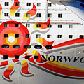The Norwegian Sun Bow Poster by Susanne Van Hulst