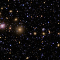 The Perseus Galaxy Cluster Poster by R Jay GaBany