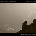 The Praying Monk Camelback Mountain Poster by James BO  Insogna