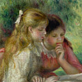 The Reading Print by Pierre Auguste Renoir