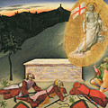 The Resurrection Poster by Master of the Osservanza