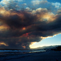 The Santa Barbara Fire Print by Jerry McElroy