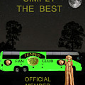The Scream World Tour Tennis tour bus Simply the best Poster by Eric Kempson