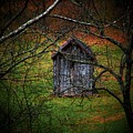 The Shed Print by Michael L Kimble