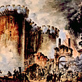 The Storming Of The Bastille, Paris Poster by Everett