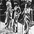 THE SUPREMES, c1963 Print by Granger