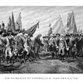 The Surrender Of Cornwallis At Yorktown Poster by War Is Hell Store