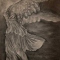 The Victory of Samothrace Poster by Julianna Ziegler