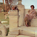 The Voice of Spring Print by Sir Lawrence Alma-Tadema