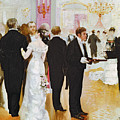 The Wedding Reception Poster by Jean Beraud