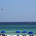 The White Panama City Beach - before the Oil Spill Print by Susanne Van Hulst