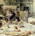 The Women of Amphissa Print by Sir Lawrence Alma-Tadema