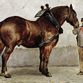The Work Horse Print by Otto Bache