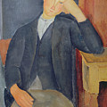 The young apprentice Print by Amedeo Modigliani