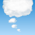 thinking cloud Poster by Carlos Caetano