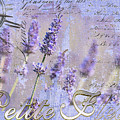 Timeless Lavender Poster by Anahi DeCanio