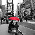 Times Square 5 Print by Andrew Fare