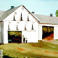 Tobacco Barn Poster by Dale Ziegler