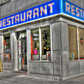 Tom's Restaurant of Seinfeld Fame Poster by Randy Aveille