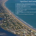 Topsail Beach Poster by Betsy C  Knapp