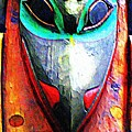 Totem 7 Print by Randall Weidner