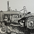 Tractor Poster by Mary Capriole