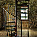 Tucker's Tower Winding Staircase Print by Tamyra Ayles