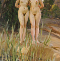 Two Friends  Print by Anders Leonard Zorn
