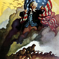 Uncle Sam Buy War Bonds Poster by War Is Hell Store