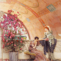 Unconscious Rivals Poster by Sir Lawrence Alma Tadema