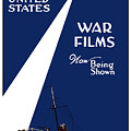 United States War Films Now Being Shown Print by War Is Hell Store