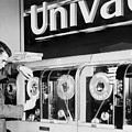 Univac Was The First Computer Designed Print by Everett