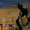 University of Montana Icons Print by Katie LaSalle-Lowery
