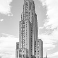 University of Pittsburgh Cathedral of Learning Print by University Icons