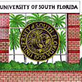 University of South Florida Poster by Frederic Kohli