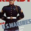 US Marines Ready Print by War Is Hell Store