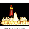 UT Tower Poster Print by Marilyn Hunt