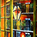 View from a French Quarter Balcony Print by Diane Millsap