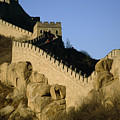 View Of A Section Of The Great Wall Poster by Michael S. Yamashita