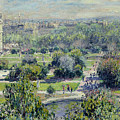 View of the Tuileries Gardens Print by Claude Monet