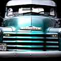Vintage Chevy 3100 Pickup Truck Poster by Steven  Digman