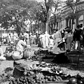 Vintage Street Scene in Ponce - Puerto Rico - c 1899 Print by International  Images
